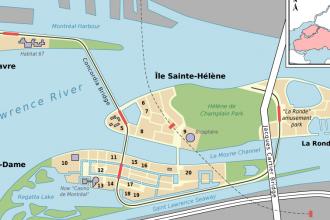 Habitat 67. Parc de la Cité-du-Havre