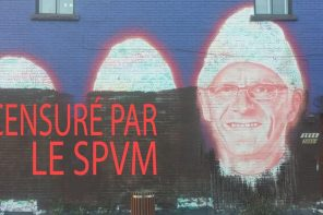 ACAB – All Cops Are Buffers: murale censurée par le SPVM dans Hochelag'