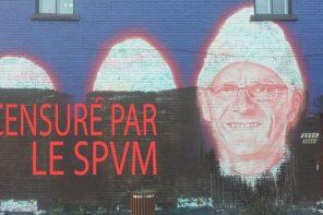 ACAB – All Cops Are Buffers: murale censurée par le SPVM dans Hochelag'