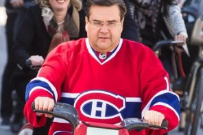 mayor coderre on bixi
